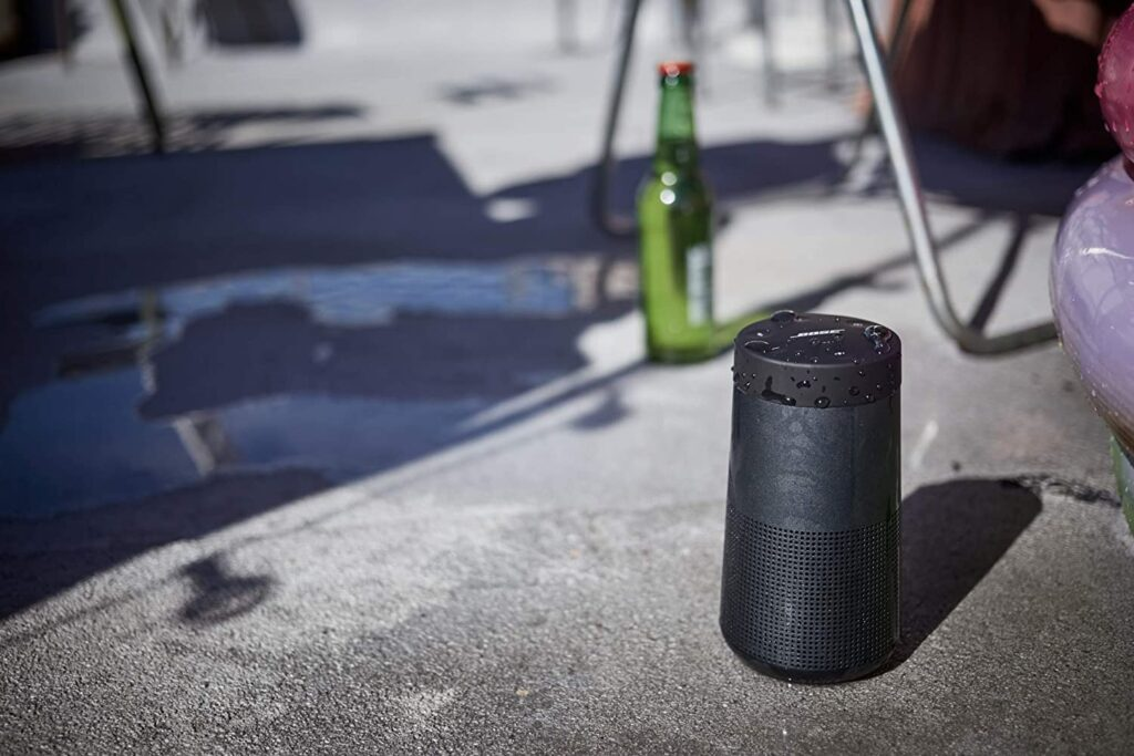 The Bose Soundlink Bluetooth Speaker